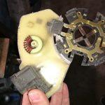 Repair cooling fan citroen