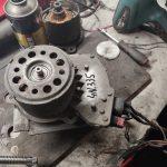 ECU cooling fan Citroen