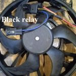 Differences between the original and Chinese cooling fan.